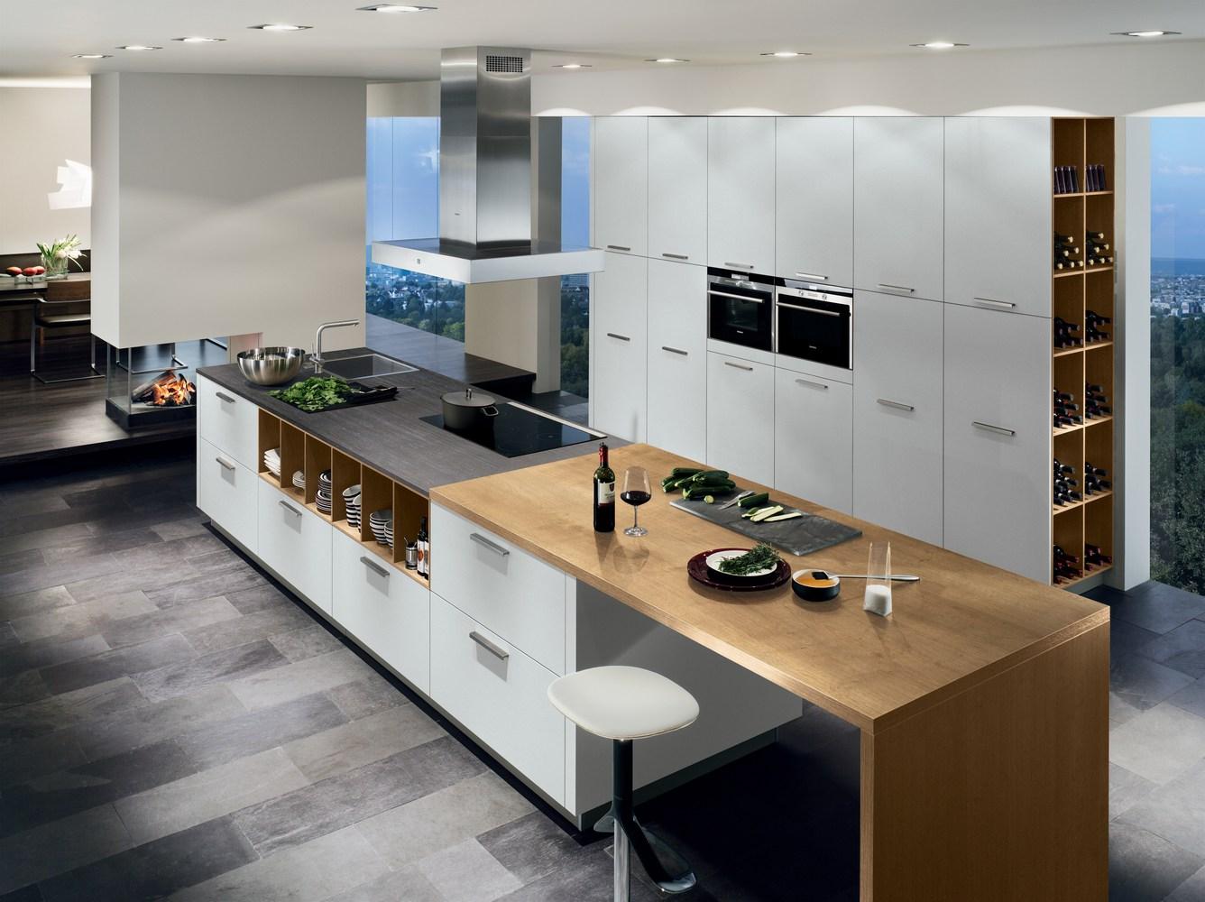 Weinregal für küche  Linie 12 - Küche - Beratung, Planung, Ausführung