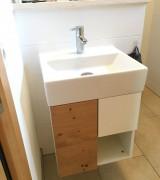 WC-Waschtischunterbau